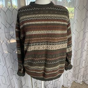 Haggar Chunky Oversized Sweater Size Large